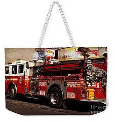 Big Engine Number Eight Weekender Tote Bag