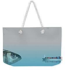 Big Fish Weekender Tote Bag