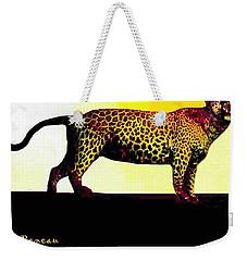 Big Game Africa - Leopard Weekender Tote Bag