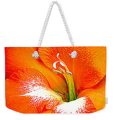 Big Glad In Bright Orange Weekender Tote Bag