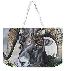 Big Horned Sheep Weekender Tote Bag