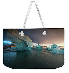 Big Ice Weekender Tote Bag