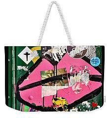 Big Kiss Weekender Tote Bag