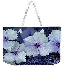 Big Leaf Hydrangea Closeup Weekender Tote Bag