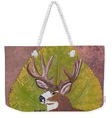 Big Mule Deer Buck Weekender Tote Bag