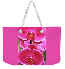 Big Orchids Weekender Tote Bag