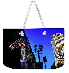 Big Piney Sculpture In Downtown Milwaukee Weekender Tote Bag