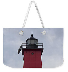 Weekender Tote Bag featuring the photograph Big Red by Tara Lynn