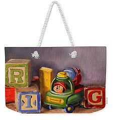 Big Rig Weekender Tote Bag