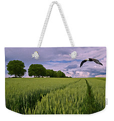Weekender Tote Bag featuring the photograph Big Sky by David Dehner