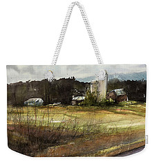 Big Sky Weekender Tote Bag by Judith Levins