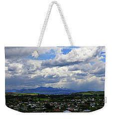 Big Sky Over Oamaru Town Weekender Tote Bag