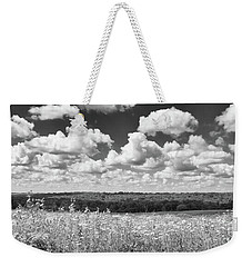 Weekender Tote Bag featuring the photograph Big Sky - Wisconsin  by Ricky L Jones