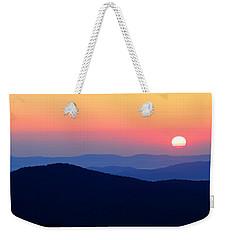 Big Sunrise Off Blue Ridge Parkway Weekender Tote Bag
