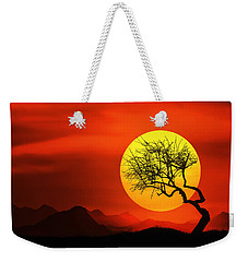 Big Sunset Weekender Tote Bag
