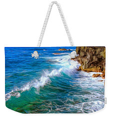 Big Sur Coastline Weekender Tote Bag by Dominic Piperata