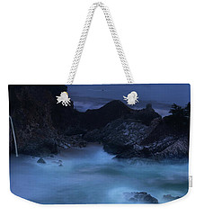Weekender Tote Bag featuring the photograph Big Sur Night by Dustin LeFevre