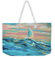 Big Swell Weekender Tote Bag