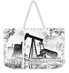 Big Thicket Oilfield Weekender Tote Bag