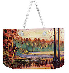 Big Thicket Swamp Weekender Tote Bag