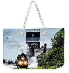 Big Valley Steam Weekender Tote Bag by Brad Allen Fine Art