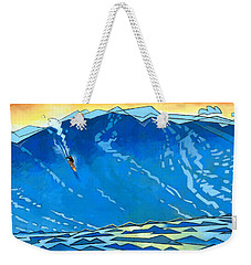 Big Wave Weekender Tote Bag