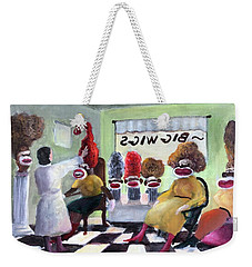 Big Wigs And False Teeth Weekender Tote Bag
