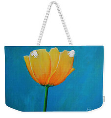 Big Yellow Tulip Weekender Tote Bag