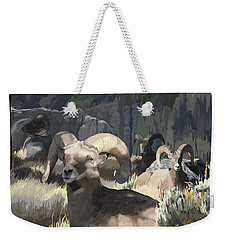 Bighorn Boys Weekender Tote Bag