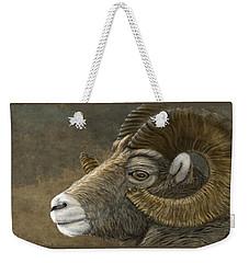 Bighorn Weekender Tote Bag by Kathie Miller