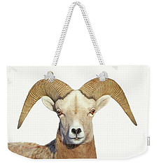 Weekender Tote Bag featuring the photograph Bighorn Sheep Ram by Jennie Marie Schell