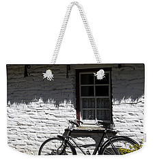 Bike At The Window County Clare Ireland Weekender Tote Bag