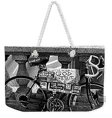 Bike Grand Concourse Bronx Weekender Tote Bag