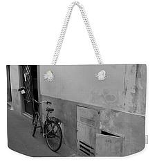 Bike In Alley Weekender Tote Bag