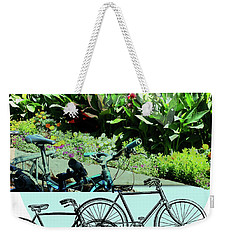 Bike Poster Weekender Tote Bag