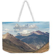 Bikers And The Andes Mountains Weekender Tote Bag
