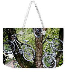 Bikes In A Tree Weekender Tote Bag