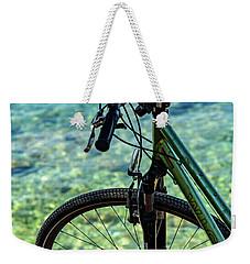 Biking The Rovinj Coastline - Rovinj, Istria, Croatia Weekender Tote Bag
