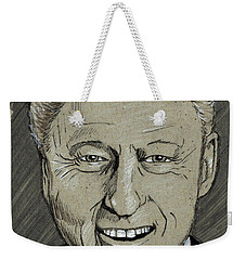 Bill Clinton Weekender Tote Bag