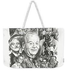 Bill Murray Weekender Tote Bag by James Rodgers