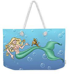 Bill Proctor Mermaid Weekender Tote Bag
