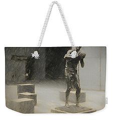 Bill Russell Statue Weekender Tote Bag