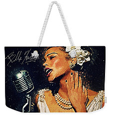 Billie Holiday Weekender Tote Bag