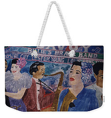 Billie's Brass Band Weekender Tote Bag