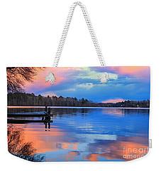 Billington Sea Sunset Weekender Tote Bag