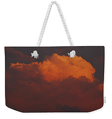 Billowing Clouds Sunset Weekender Tote Bag