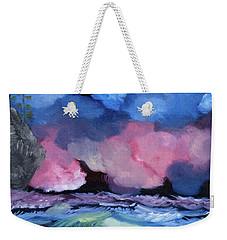 Billowy Clouds Afloat Weekender Tote Bag