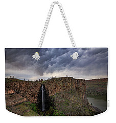 Billy Chinook Falls Weekender Tote Bag by Cat Connor