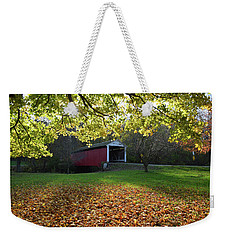 Billy Creek Bridge Weekender Tote Bag
