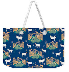 Billy Goat Gruff Weekender Tote Bag by Beth Travers